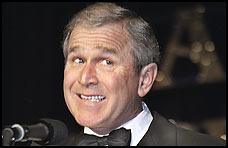 La sonrisa de Bush