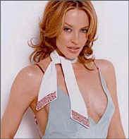 Los famosos también se acercan al misterio (Kylie Minogue)